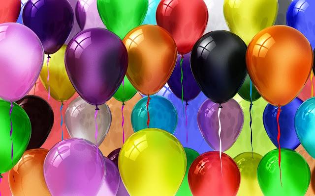 foto verjaardag ballonnen