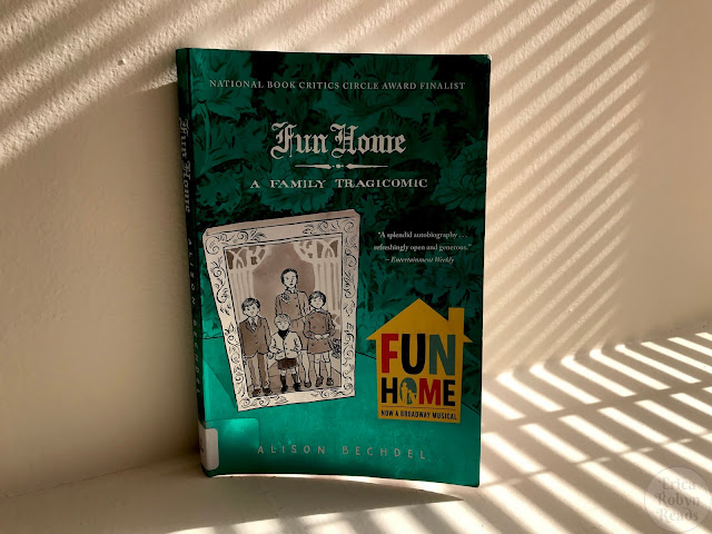 Graphic Novel Review of Fun Home: A Family Tragicomic by Alison Bechdel