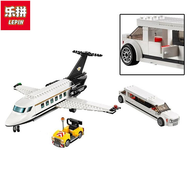 downtheblocks: Lepin 02044: City Airport VIP Service Preview