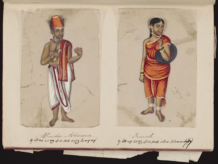 Hindoo Astronomer and Female