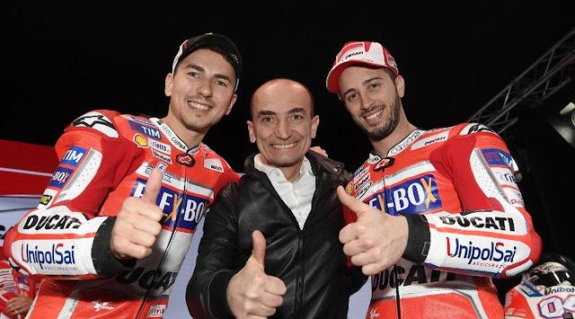 MotoGP: Lorenzo Merasa Tidak Keberatan Bantu Dovizioso