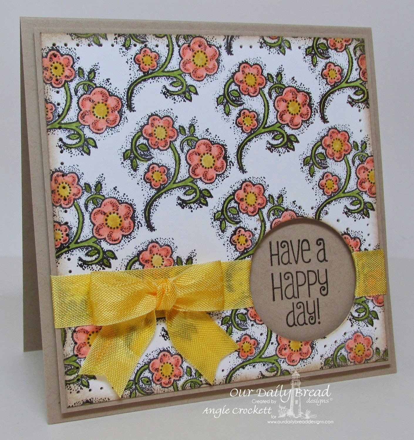 ODBD Be Joyful, Card Designer Angie Crockett