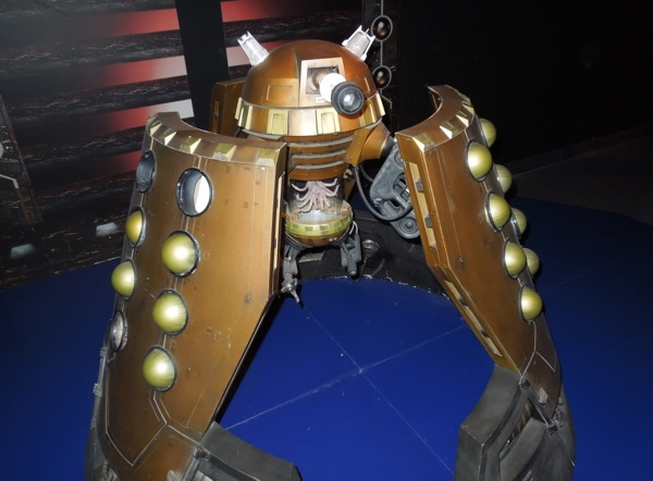 Original 2005 Dalek Emperor prop Doctor Who