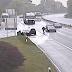 Κυνηγώντας το αυτοκίνητό του σε δρόμο της Ελβετίας: Ξέχασε να βάλει χειρόφρενο... (video)