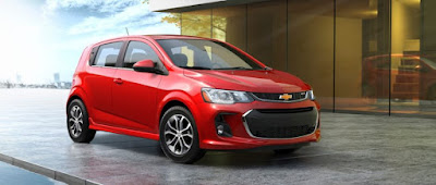 The 2017 Chevy Sonic Gets a Fresh Look