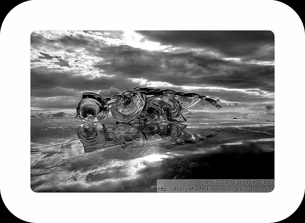 Abstract Photo 3082 Crystal Landscape 150  Lips of sea with sharpkisses - Labios de mar con besos afilados