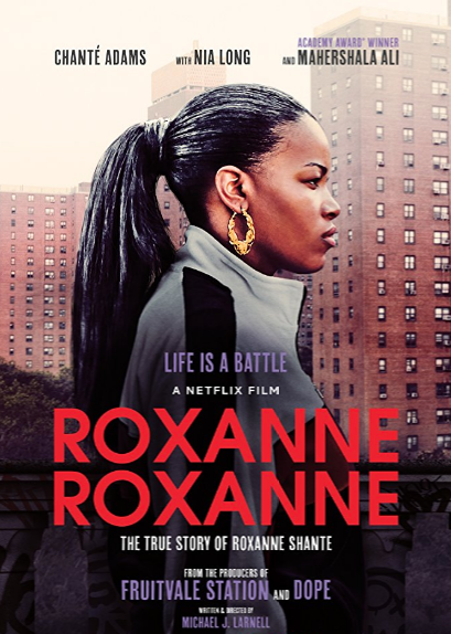 Resultado de imagem para Netflix lançará filme sobre a rapper Roxanne Shante