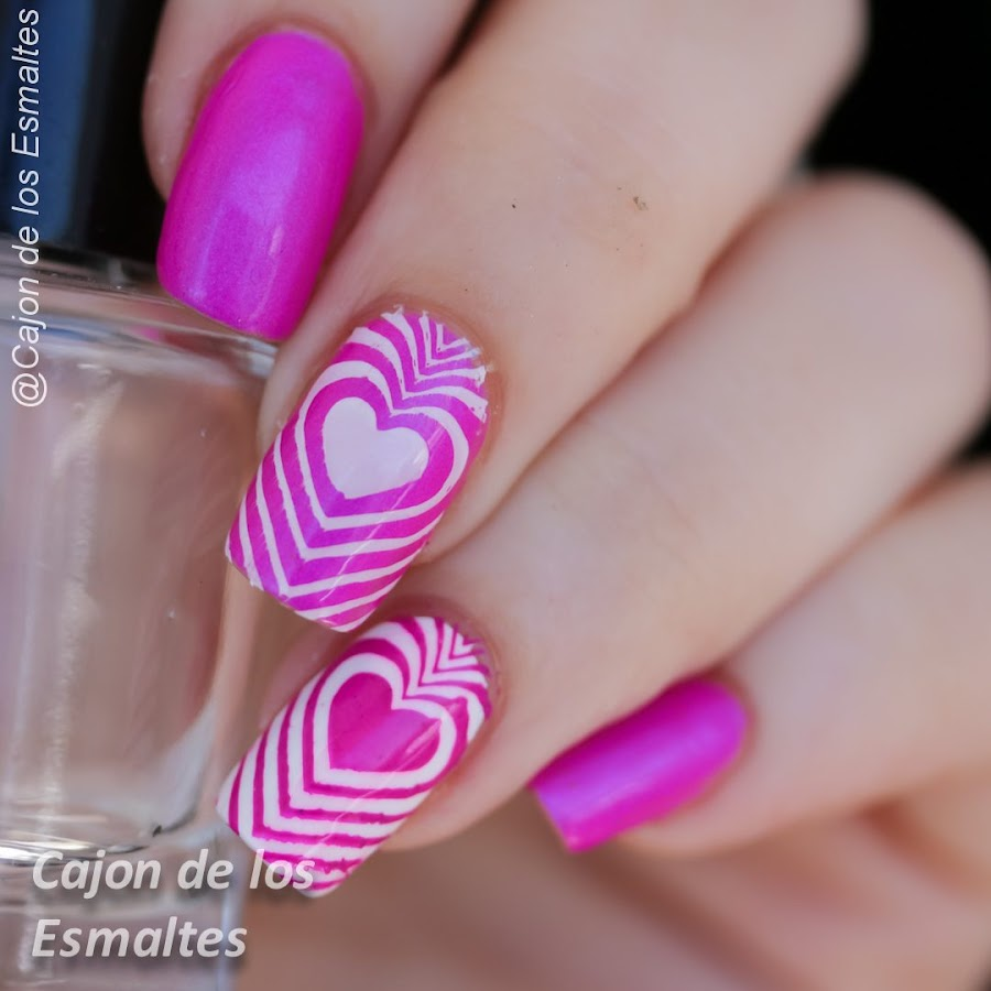 Uñas de San Valentín