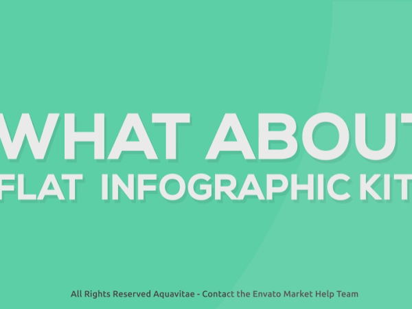 Download Flat Infographics Free After Effects Project