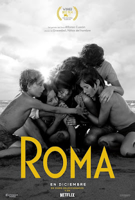 Cartel de Roma de Alfonso Cuaron