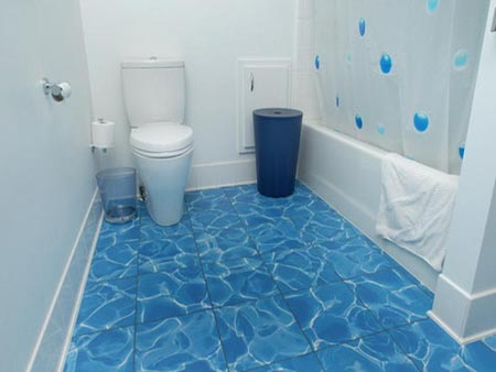 Bathroom Floor Pros and Cons of Various Tile Types Home Design