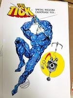 Bandai The Tick action figure concept art