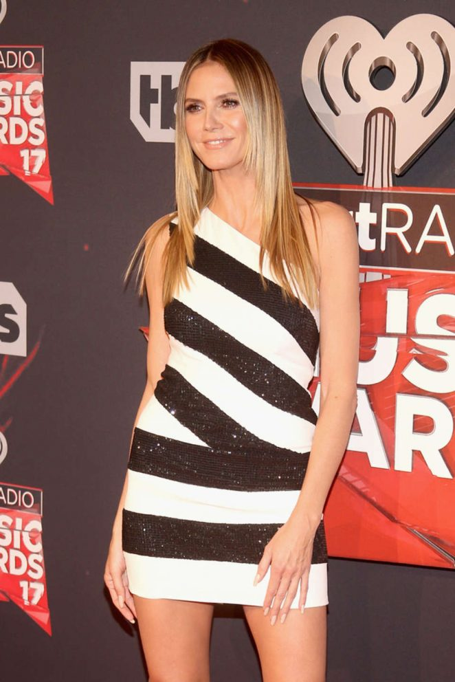 Heidi Klum – 2017 iHeartRadio Music Awards in Los Angeles