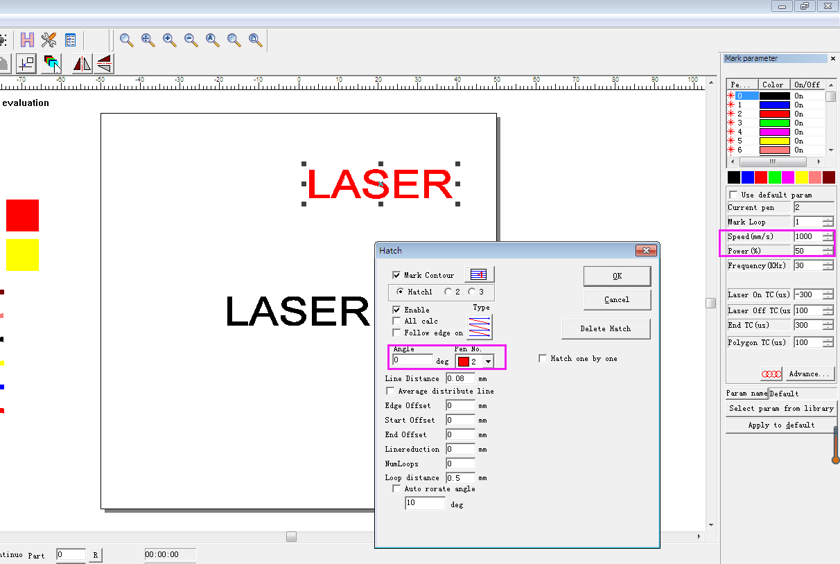 How To Make Deep Engraving With Ezcad Software