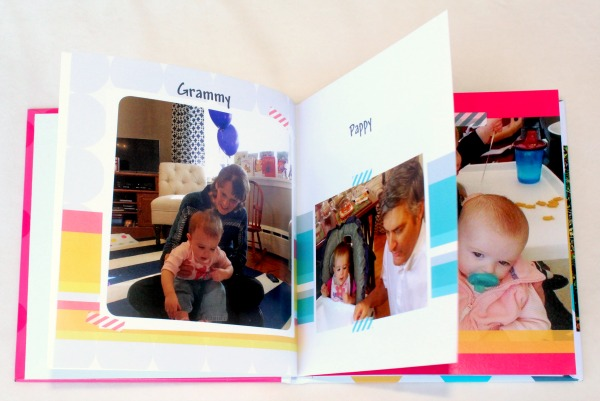 A creative and personalized gift idea for a one year old or a toddler- A family and friends photo book. My toddler LOVES this!
