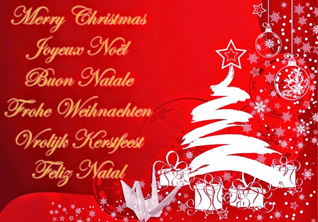 Happy Christmas 2016 Wishes Message & Greetings In Italian, Portuguese, French, Canadian German & Other Language