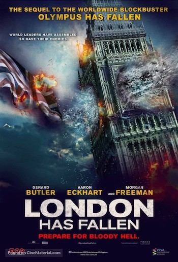 London Has Fallen 2016 English Full Movie