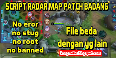 Script Radar Map Mobalogic Terbaru