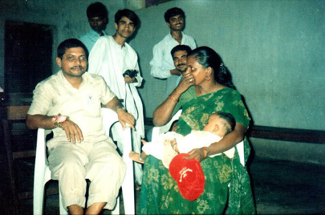 Dubey Sir Sunita mam and Maths sir, 1998 jnv khagaria