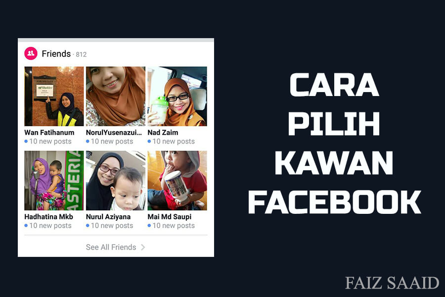 kawan facebook paling best