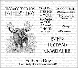 "Our Daily Bread designs ""Father's Day"""