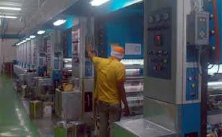 Lowongan Kerja Operator Mesin Printing Plastik Offset Bandung