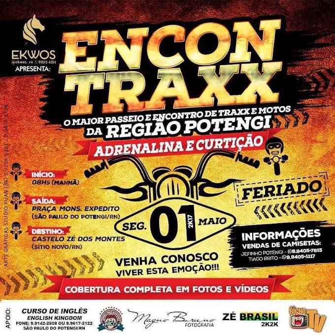 Vem aí em São Paulo do Potengi/RN o 1º ENCONTRAXX