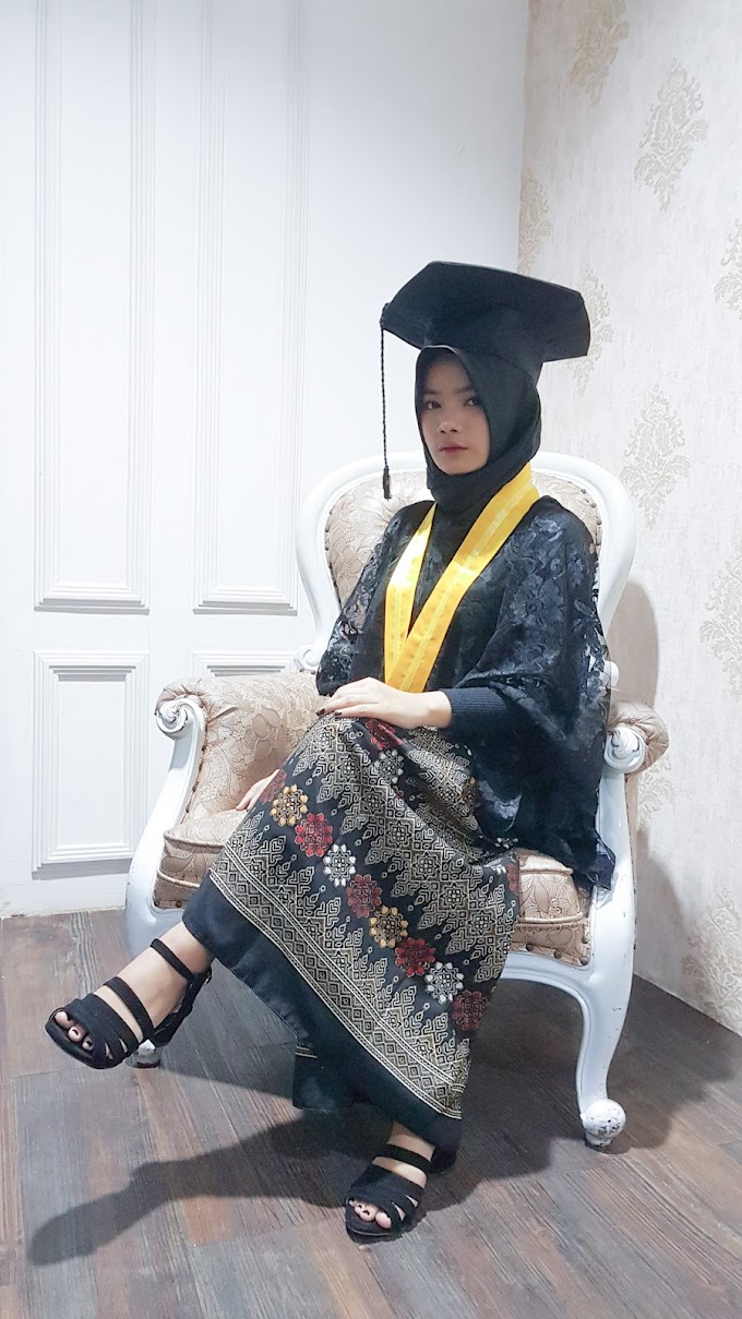 Simple Graduation Clothes #RimaAngelinStyle