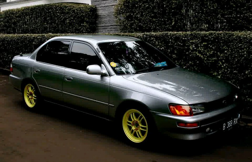 Gambar Modifikasi Elegant Mobil Sedan Toyota Corolla Great