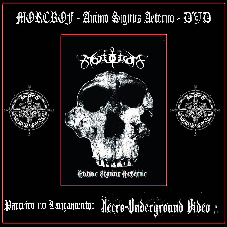 """Arte Metal  Arte News  MORCROF lança seu primeiro DVD """"ANIMO SIGNVS ... 859c0fd3f8f"""