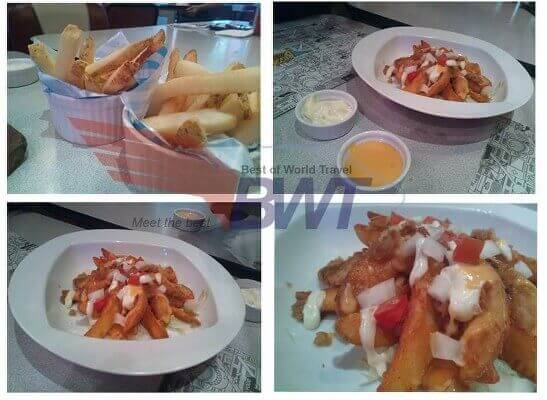 naga restaurant fries