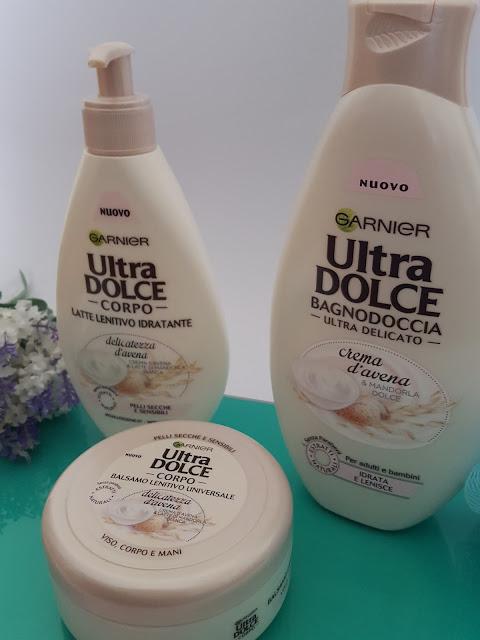 Garnier Ultra Dolce, bagnodoccia e crema corpo all'avena
