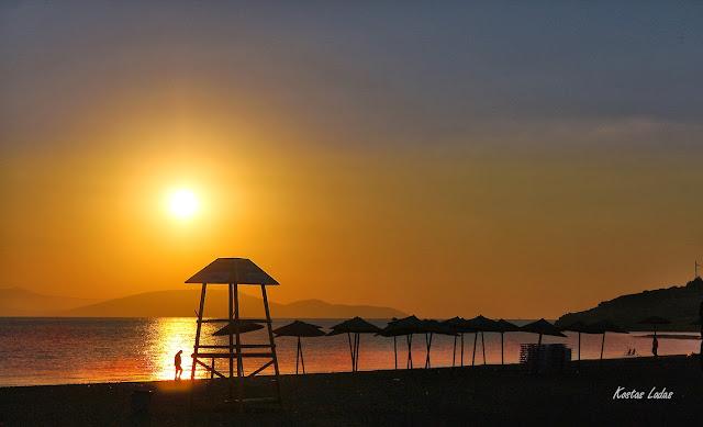 θαλασσα,παραλία,ανατολη,ξημέρωμα ,φωτο Κώστας Λαδάς