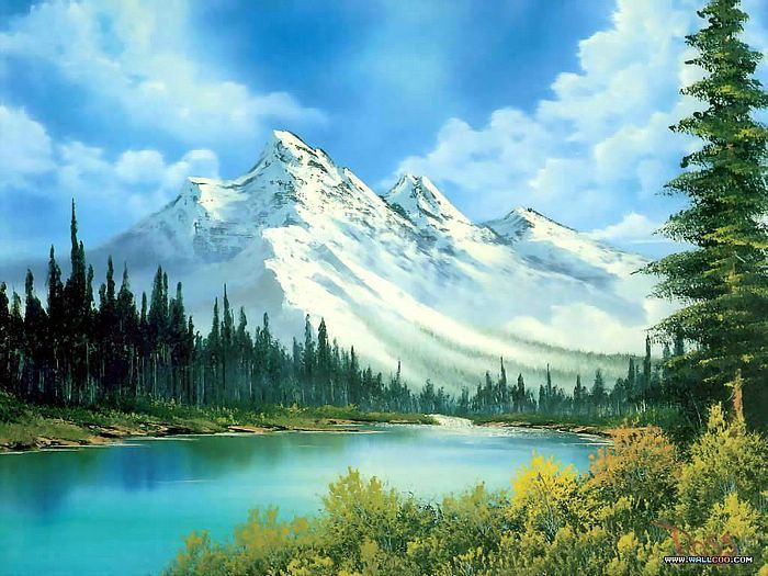 bubbling stream bob ross - Bob Ross Bubbling Stream (Season 3 Episode 3) YouTube