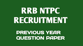 RRB NTPC 2016 Stage I Exam Question Paper Solve PDF