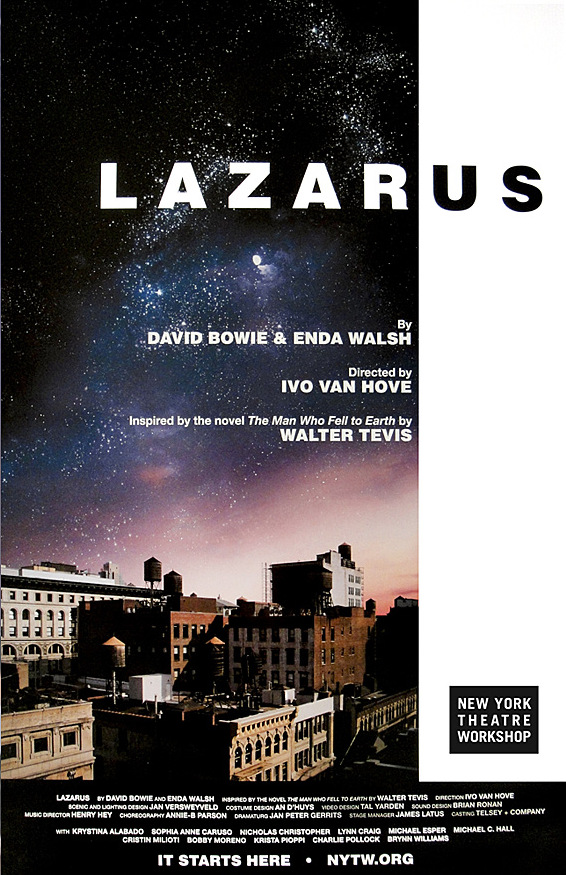 David Bowie Lazarus Play The Man Who Fell To Earth Michael C Hall