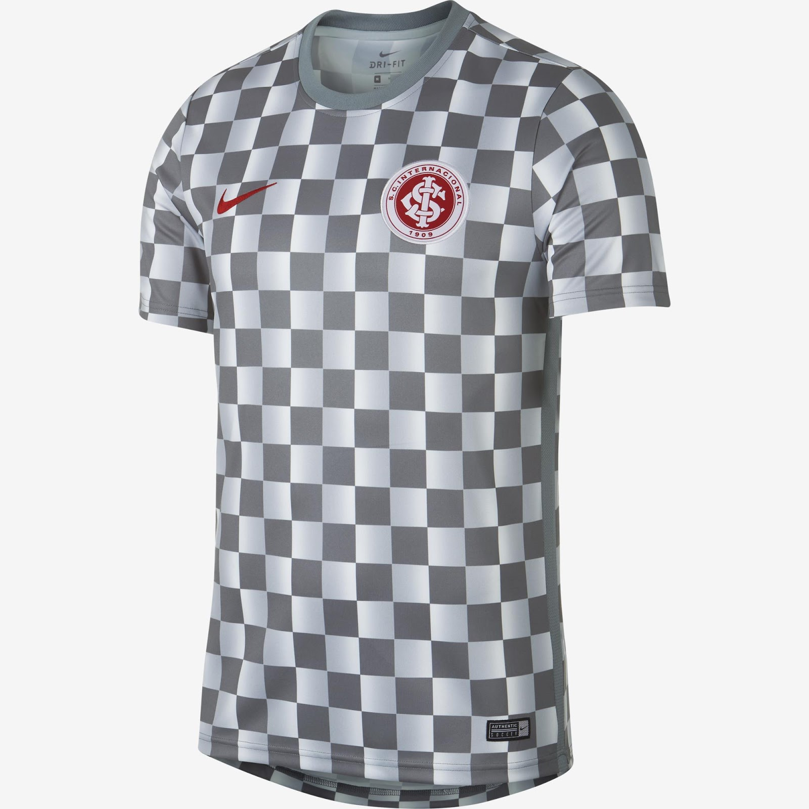 Veja como ficou a nova camisa de treino do Internacional 2019 5f0046630883e