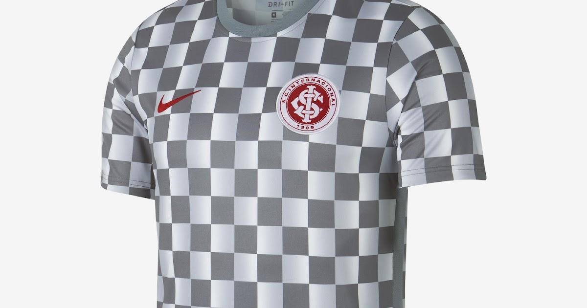Veja como ficou a nova camisa de treino do Internacional 2019 5c64665dd0b18