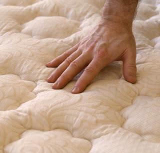 Testing mattress