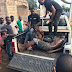Photos: Armed robbers caught by residents while trying to break into a home in Edo State