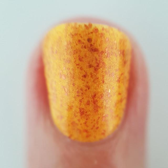 alter ego, beta cancri, altarf, orange polish, summer shade