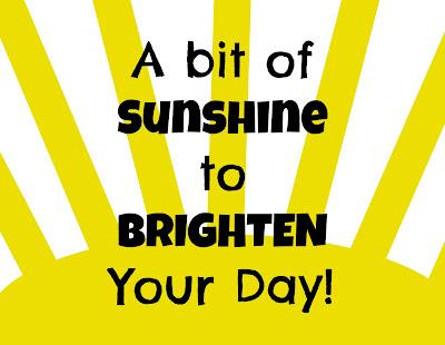 Brighten you day free printable tag @michellepaigeblogs.com