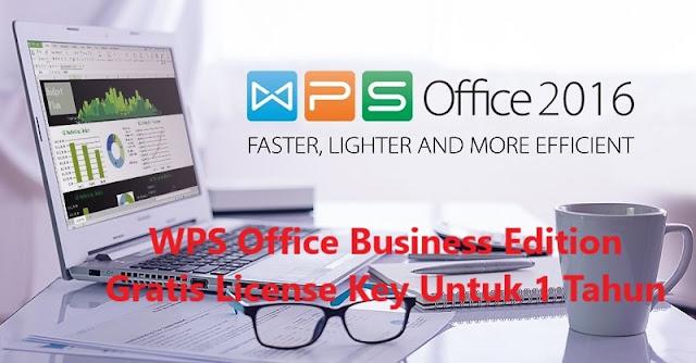 Download WPS Office 2016 Premiun Gratis Crack Activation Code