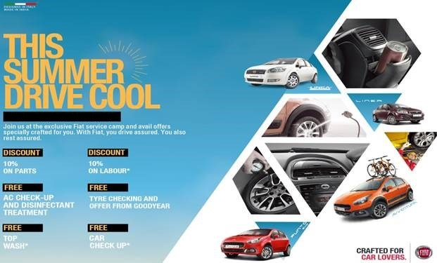 Fiat Drive cool campaign