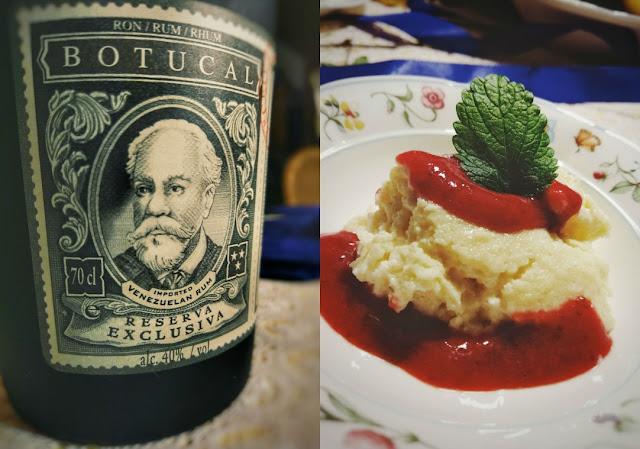 Botucal Rum und Griesflammerie