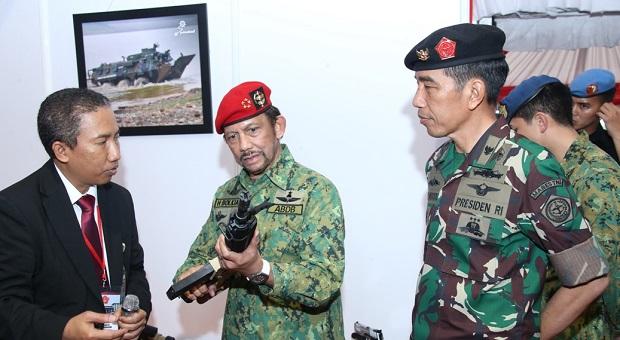 Presiden Terima Kunjungan Sultan Brunei Darussalam