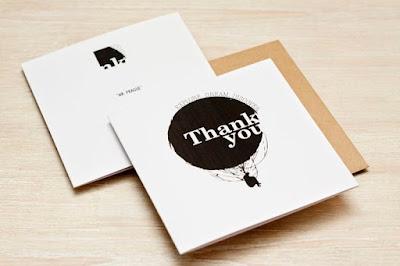 Desain Thank You Card Unik