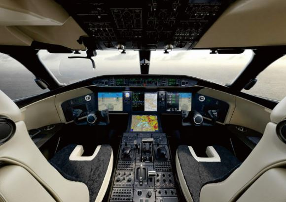 Bombardier Global 6500 cockpit