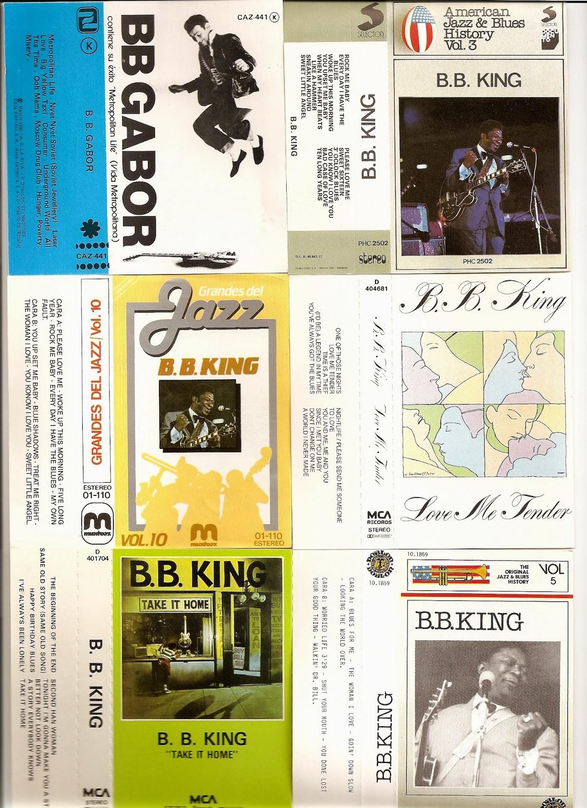 Cassette Musicassettes Solo Caratulas Letra B