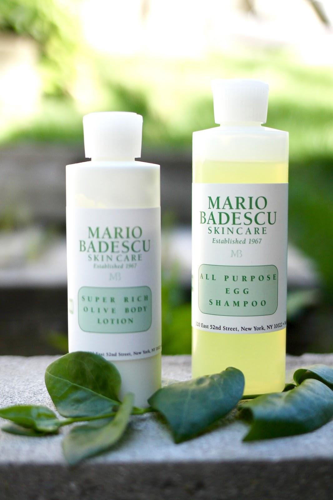 mario badescu egg shampoo, Mario badescu super rich olive oil lotion